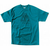MATIX Skateboard T-SHIRT STITCHES TURQUOISE SZ: SMALL