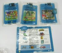 LeapFrog SchoolHouse Book Cartridge Language Level 6 LeapPad Lot of 4