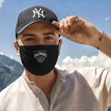 Mund Nase Maske mit dem Wunschmotiv und Gummizug Jack Daniels