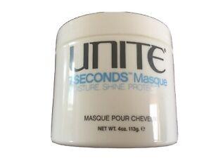 UNITE 7Seconds Hair Masque Moisture Shine Protect 113g. Multibuy Discount NEW