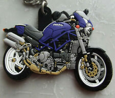 DUCATI CORSE MONSTER S4 S4R S4RS RUBBER KEYRING KEY FOB RARE