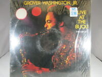 Grover Washington, Jr.: Live at the Bijou 2xLP on KUDU Label KUX-3637 VG+ Shrink