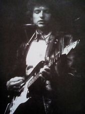 Bob Dylan Playing Electric Guitar 1965 Picture from Publication to Frame 24x17cm