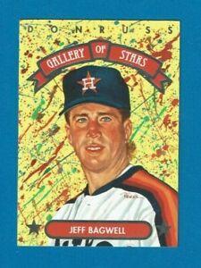 1992 Donruss GALLERY OF STARS insert # GS7 Jeff Bagwell Houston Astros