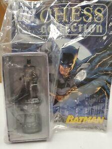 DC Comics Eaglemoss Chess Collection #1 Batman White King Figure NEW w Magazine