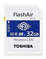 Toshiba FlashAir W-04 32gb Scheda di Memoria SDHC
