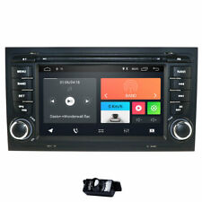 """7"""" Android 10.0 Car Radio GPS Nav Stereo DSP Head Unit for Audi A4 S4 B6 B7 RS4"""