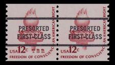 1816c Torch 12c PRESORT Brownish Red Bureau Precancel Americana Pr. MNH -Buy Now