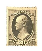 US Stamps Collection Scott #190 30c Hamilton Unused NG H CV$900 Low Price