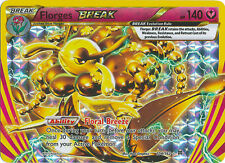 Florges Break Ultra Rare Holo Pokemon Card XY BREAKThrough 104/162