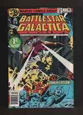 """1979 1st Issue """" Battlestar Galactica """" Marvel Comic Book Hi Grade"""