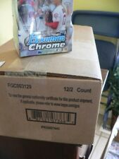 2018 Bowman Chrome Baseball HOBBY case - Clean, factory sealed case - IN STOCK