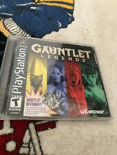 Gauntlet Legends ~ Complete for the Sony Playstation (PS1) Black Label Edition
