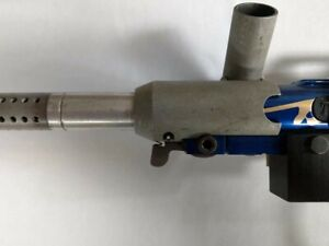 One of a Kind Tippmann Pro-Lite Vintage Old School Blue with Silver Splash Ano.