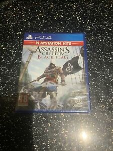 PLAYSTATION 4 PS4 GAME Assassin's Creed IV Black Flag NEW & SEALED