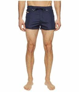 Diesel Waykeeki Navy Blue Beach Swim Board Shorts Trunks XS Men's Swimming New