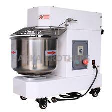 Hakka Dough Spiral Mixer 10qt Commercial Stainless Steel Food Mixer Pizza Bakery
