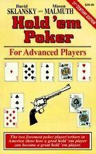 Hold'Em Poker for Advanced Players by David Sklansky & Mason Malmuth