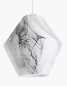 John Lewis 'Ada' Easy to Fit Grey & White Marble Effect - New Ex-Display