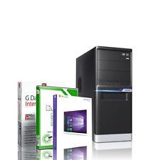 PC  GAMER Quad Core AMD A8 7600 8GB - 2TB - R7 - Rechner Windows 10 Pro Computer