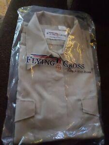 Vintage Flying Cross XL Uniform SHORT Sleeve Shirt Tan Brand New In Package