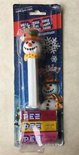 Holiday Snowman PEZ Candy & Dispenser Holiday Collection 2005