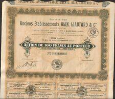 Anciens Etablissements ALIN, LIAUTARD & Cie, Carrosserie (COURBEVOIE) (O)