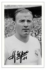 ALFREDO DI STEFANO REAL MADRID AUTOGRAPH SIGNED PHOTO PRINT SOCCER