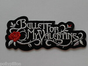 Bullet For My Valentine Sew or Iron On Patch