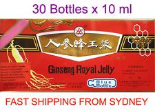 Ginseng Royal Jelly, Oral Liquid 10ML x 30 Bottles