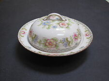 "Nippon ""The Flemengo"" pattern by Noritake covered cheese/butterdish-Japan-excond"