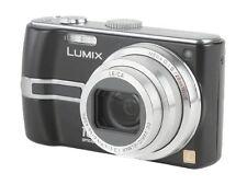PANASONIC LUMIX DMC-TZ3 7.2MP Digital Camera LEICA 10X Lens Black FREE SHIPPING