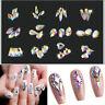 20pcs Nail Art Rhinestones Glitter Diamond Crystal Gem 3D Tips DIY Decoration Sy