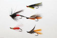 20 Pcs Assorted Winged Feather Butterfly Deceiver Trout Fly Fly Fishing Lures