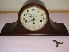 Seth Thomas Vintage Westminster Chime Mantle Clock 8 Day Movement 2 Jewels EUC