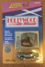 Johnny Lightning 1/64 Back to the Future DeLorean - Hollywood On Wheels 1998