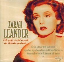 CD NEU/OVP - Zarah Leander - Ich weiß, es wird einmal ein Wunder gescheh´n