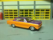 1/64 65 Chevy II Nova SS Htp.in Orange Pearl/Candy Purple with a 283/Ansen Mags