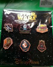 Disney Pins Star Wars The Force Awakens Booster Set 2015 FREE SHIPPING