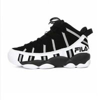 FILA SPAGHETTI 95 Men's Basketball Sneakers Shoes - Black/White(FS1HTA1011X)