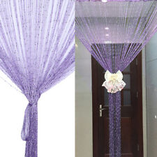 1PC String Tassel Curtains Patio Blind Hanging Divider Door Window Fly Screen