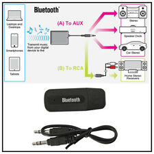 3.5mm Wireless Bluetooth 2.1 + EDR USB AUX Audio Music Receiver Adapter a
