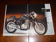 1989 HONDA GB500  - ORIGINAL ARTICLE