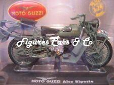 MOTO GUZZI ALCE BIPOSTO ALPINI GRIGIO-VERDE STARLINE 1:24 MOTO MODELLO 99033