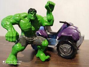 Hasbro Marvel Hulk Figur mit Quad