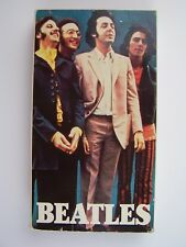 Beatles VHS Tape Documentary ~ RARE