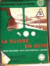 La Suisse en Auto Switzerland L'Automobile-Club de Suisse Map