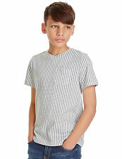 M&S Kids Pure Cotton Gingham Checked Crew Neck T-Shirt Age 11-12 BNWT