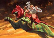 He Man Battle Cat Amos del Universo nueva impresión de arte poster YF1338
