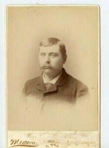 Vintage Armoire Carte Bohu Midwesterner Avec Mustache Meason Photo La Crosse Wi
